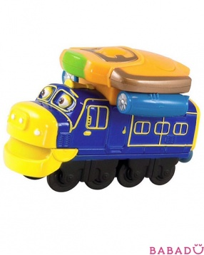Паровозик Брюстер со светом и звуком Chuggington Die Cast (Чаггингтон)