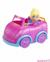 Кукла в автомобиле Polly Pocket Mattel (Маттел)