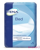 Пеленки Tena Bed Normal (Тена) 60*60 (5шт.)