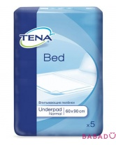 Пеленки Tena Bed Normal (Тена) 60*90 (5шт.)